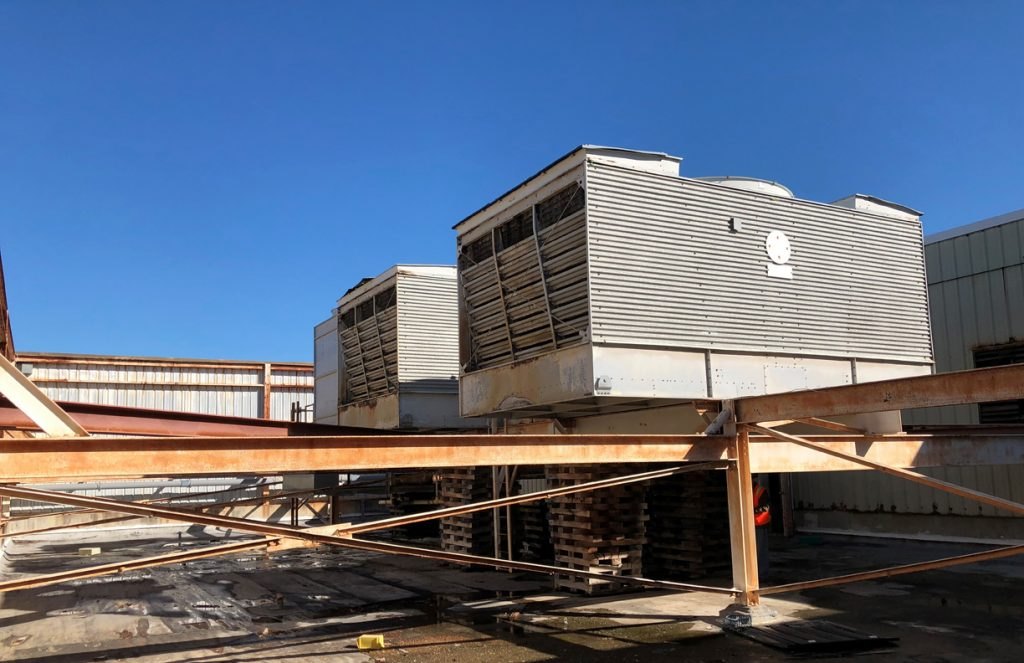 Cooling Tower And Support Structure Replacement Digitrol